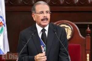 Esta será la última vez que Danilo Medina hablará al país desde el Congreso en su actual gestión.