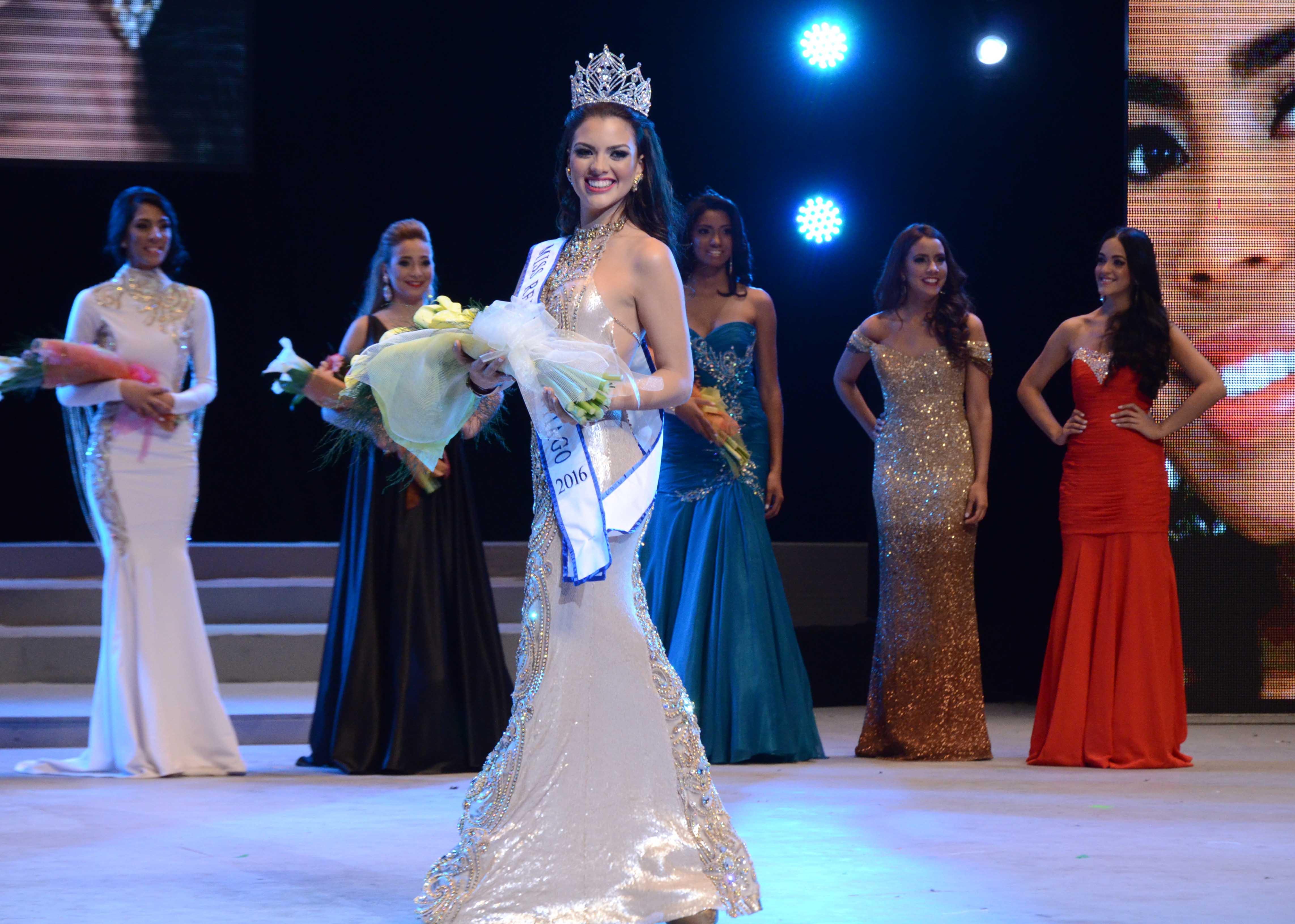 Katherine Camacho, Miss RD Santiago 2016.