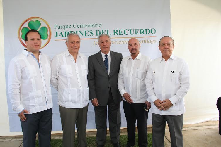 Xavier Blanco, Germán Blanco, Leonardo Vargas, Rafael Vargas y Nicolás Vargas