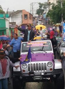 PLD y Aliados toman las calles de Santiago (2)