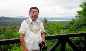 El paisajista Saki Kosugi.