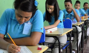 Pruebas Nacionales. Escuela Fidel Ferrer, ensanche La Fe. El Nacional/ Jorge Gonzalez