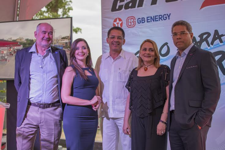 Brun Vincens, Walkiria Caamaño, Arquimedes Cabrera, Rosanna Grullón y Pablo Portes.