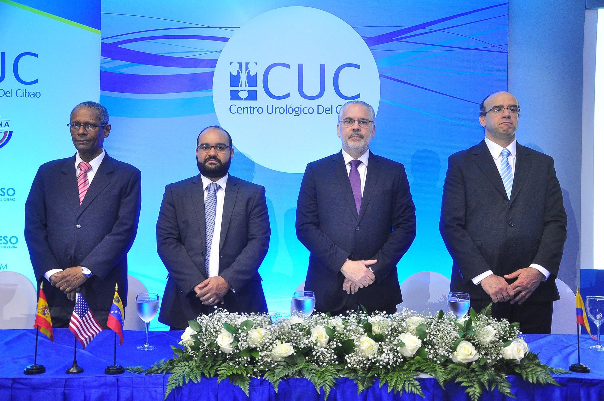 Pedro Juan Castillo, Miguel Sánchez Caba, José Lorenzo López Pellerano y Fernando Secin.
