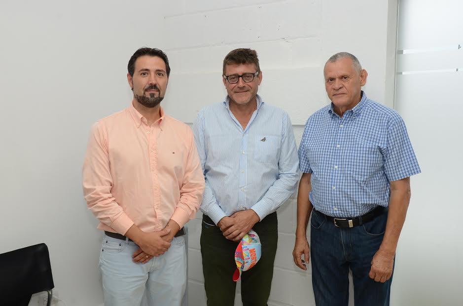 Fernando Martín, Fruela Roces y Yeyo Ochoa