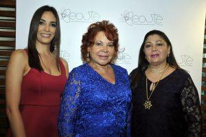 Fidelina de la Cruz, Georgina Perez Cairo y Rosa Campos