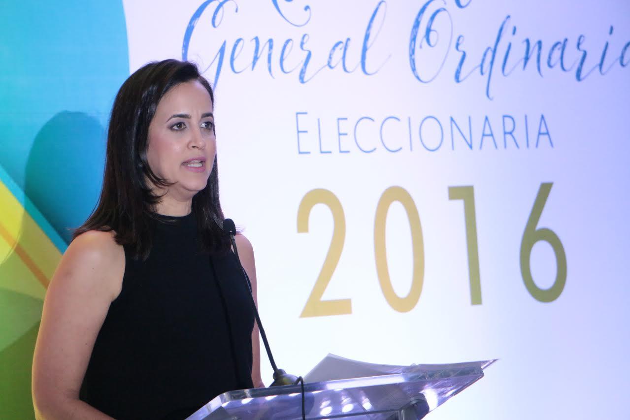 Lina García de Blasco, presidenta de la Asociación de Industriales de la Región Norte (AIREN)