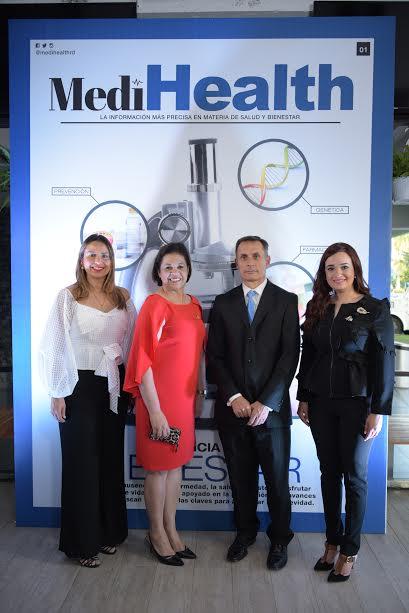 Carla Cedeño, Rosa Taveras , Alberto Labadia y Carla Fernández.