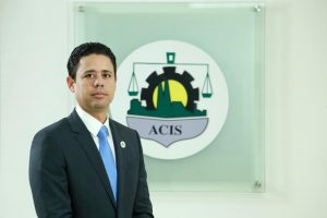 Carlos Guillermo Núñez, presidente de la ACIS