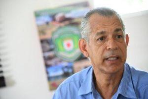 Director Provincial del Ministerio de Medio Ambiente y Recursos Naturales, ingeniero Eduardo Rodríguez