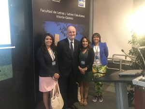 Yohanna Valenzuela, Dr. Ramón Gil-Casares, Heliana Medina, Rixie Uribe