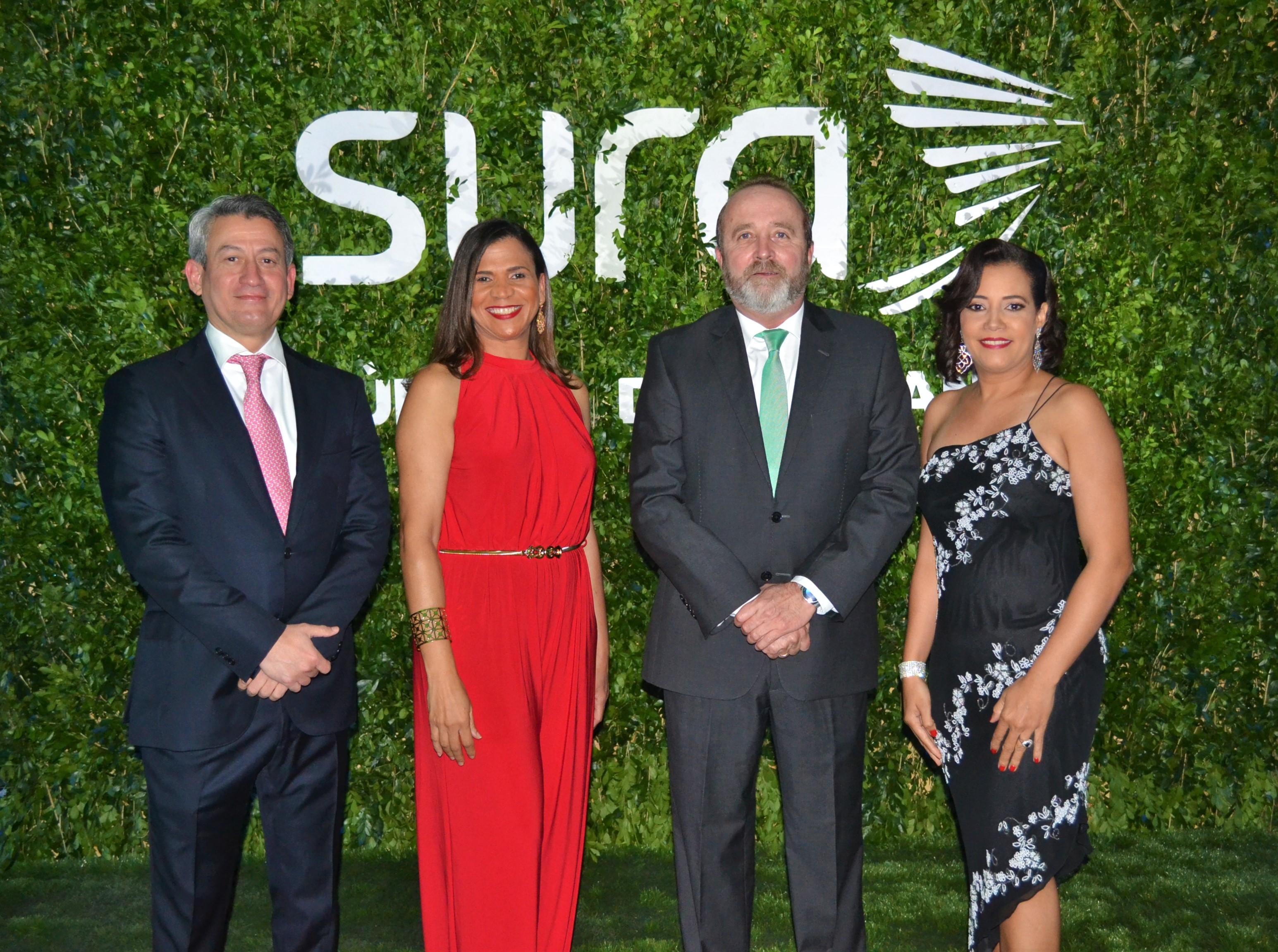 James García, Gina Jiménez, Carlos Alberto Ospina y Rosa Sandoval