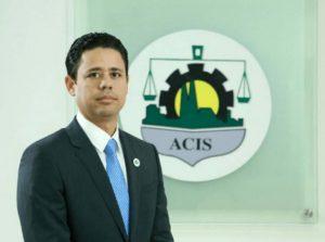 Carlos Guillermo Núñez, presidente de la Asociación de Comerciantes e Industriales (ACIS)