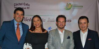 Daniel Hernández, Karina Paredes, Fabrizio Frías y Luis Núñez