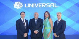 Ing. Ernesto Izquierdo, Zhaira Guadalamar, Wilfredo Baquero y Luis E. Grullón.