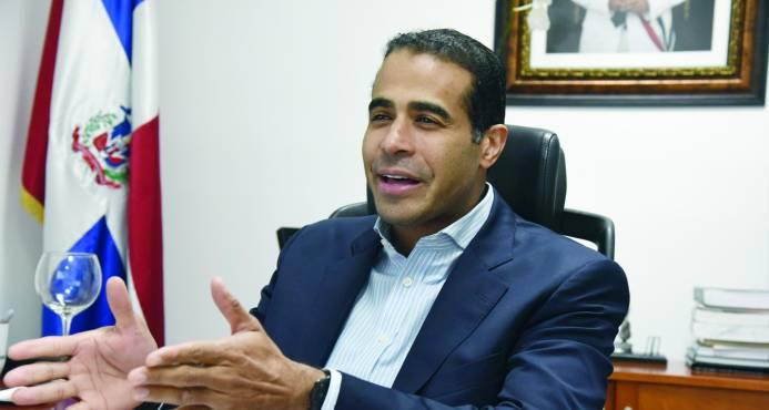 José Dantés Díaz, director ejecutivo de la Comisión Permanente de Titulación de Terrenos del Estado (CPTTE)