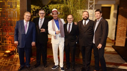 Hendrik Kelner, Manuel Quesada, Litto Gómez, Francisco Rodríguez, Abraham Flores y Jochy Blanco.