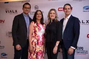 avid Bermúdez, Nércida Díaz, Nicole Bermúdez y Manuel Bermúdez